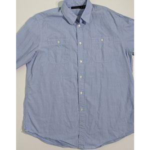 Ralph Lauren Blue Polo Button Down XL